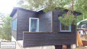 Funkis hytte av Tømrermester Lars Knutsen