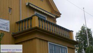 Total restaurering av rekkverk Tømrermester Lars Knutsen